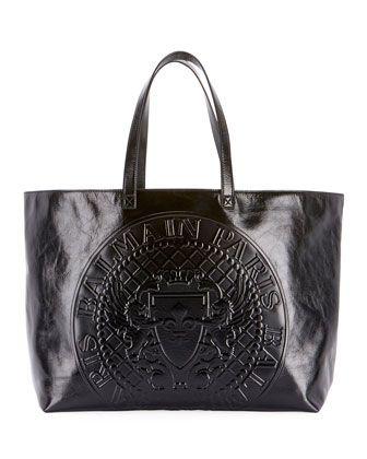 d48ede527c3f Cabas+Cuir+Shopping+Tote+Bag+by+Balmain+at+Neiman+Marcus. | :2 bags ...