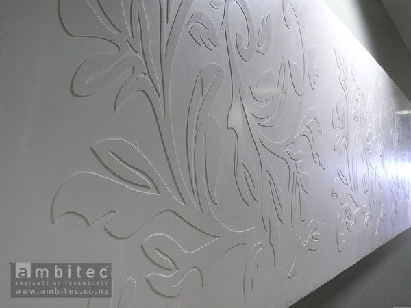 Paihia Beach And Spa Resort With Interact Graphic Designed Panels As Art Mdf Wall Panels Textured Walls Wall Design