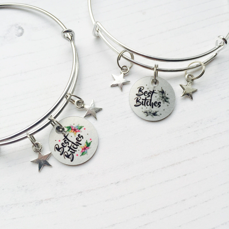Best Es Bracelet Friends Matching Bracelets Friend Jewelry Birthday Gift For