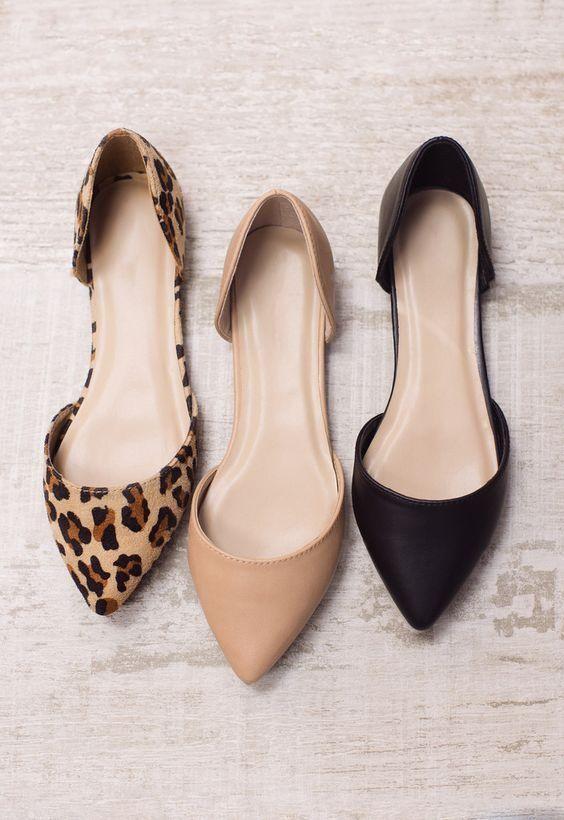 Cómo Usar Flats En La Oficina Y Seguir Luciendo Ejecutiva Zapatos Para Trabajar Mujer Zapatos Planos De Punta Zapatos Casual Mujer