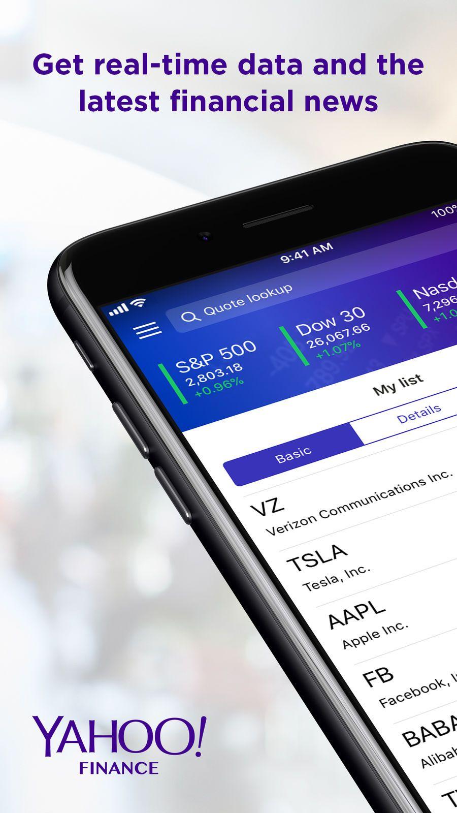 Yahoo Finance appsappappstoreios Finance, Samsung