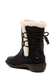 e44955ad226 UGG Australia Akadia Genuine Sheepskin Lace-Up Boot | Boots and Sexi ...