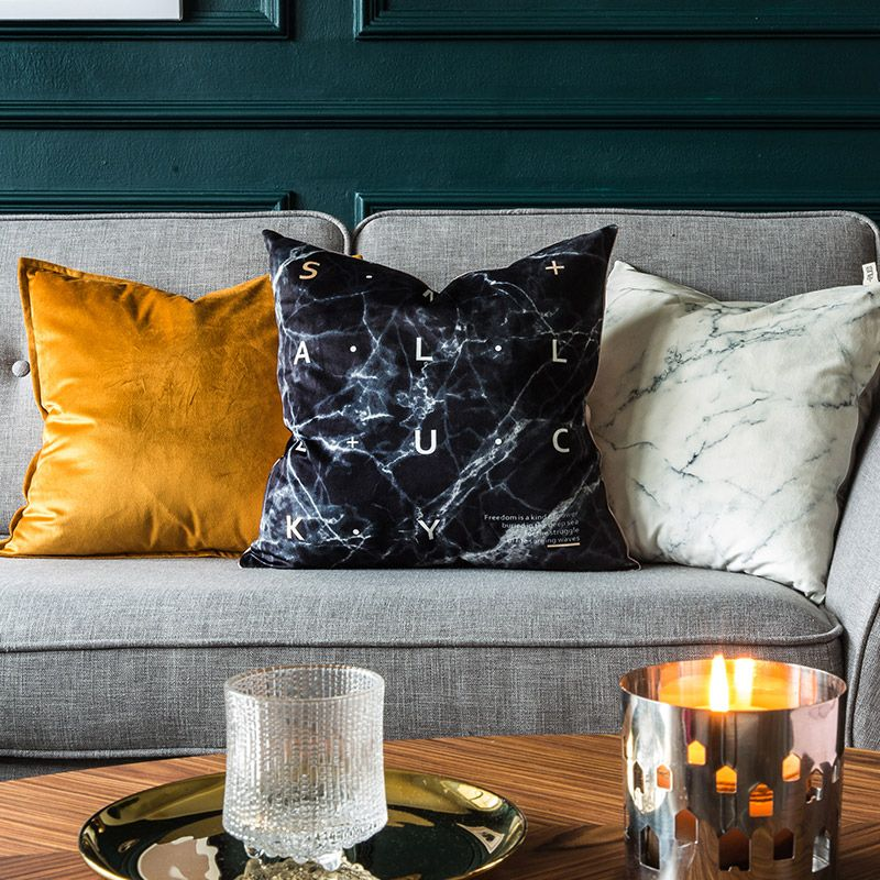 Sweet marble pillowcovers Pillow cover design, Stylish
