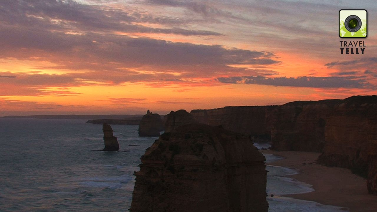 Twelve Apostles sunset, Australia: When driving the Great Ocean Road; start in Melbourne and make your way up to the Grampians NP. Also make sure to look for koalas, as they are often found around this area