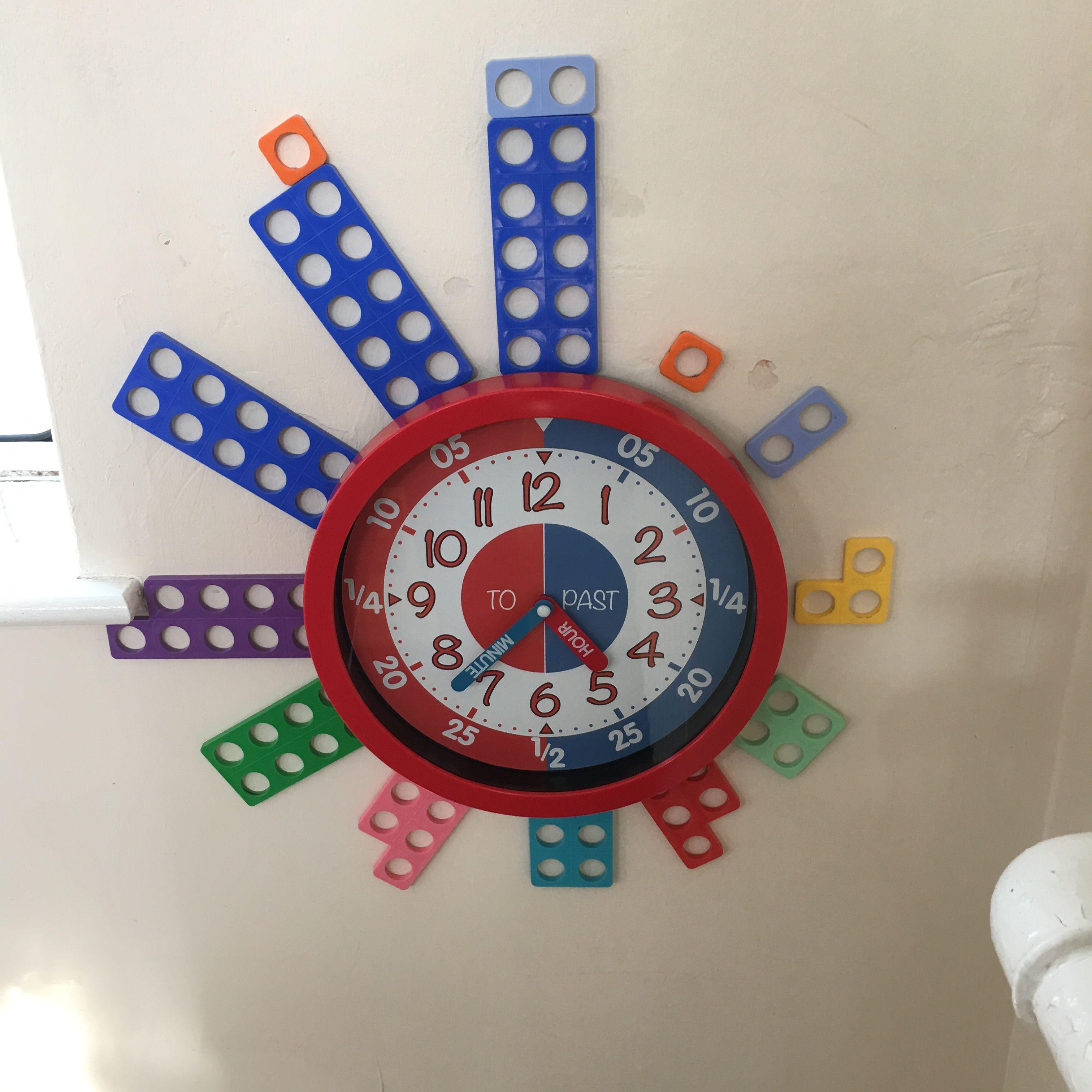 Numicon Clock