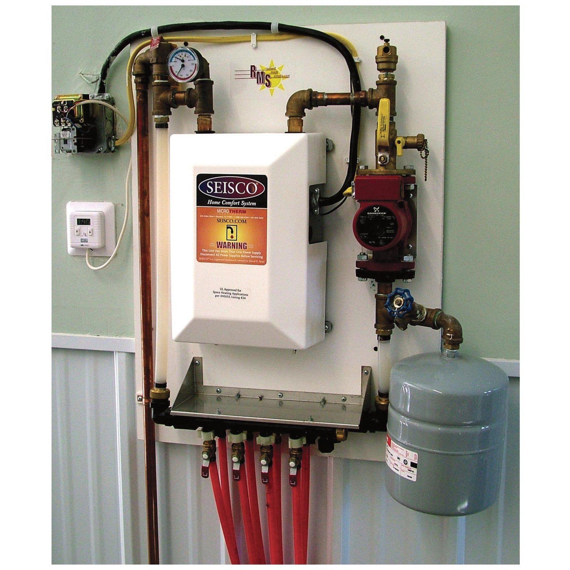 Radiant Heat System 7kw 23 890 Btu Boiler 230v 40 Amp