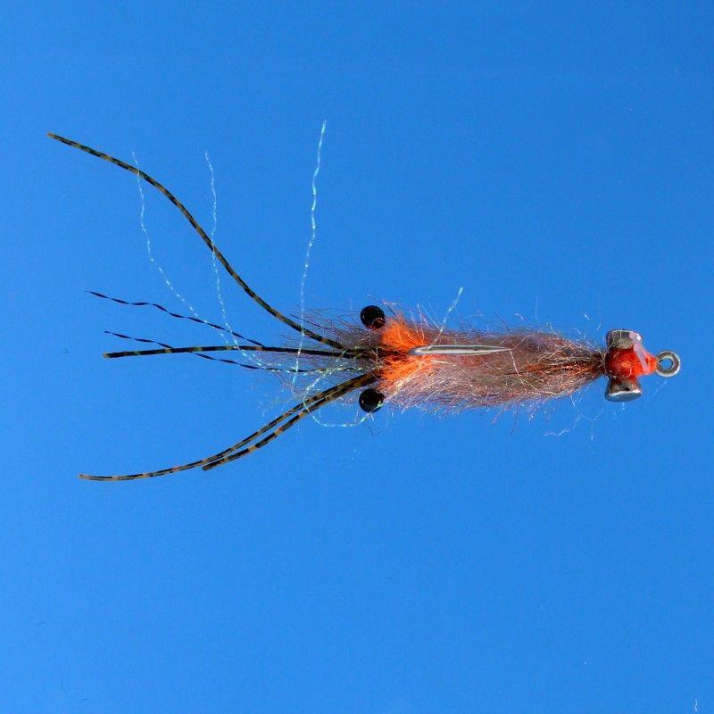 EZ Shrimp Saltwater Bonefish Fly Fishing Flies Choice of Hook Size