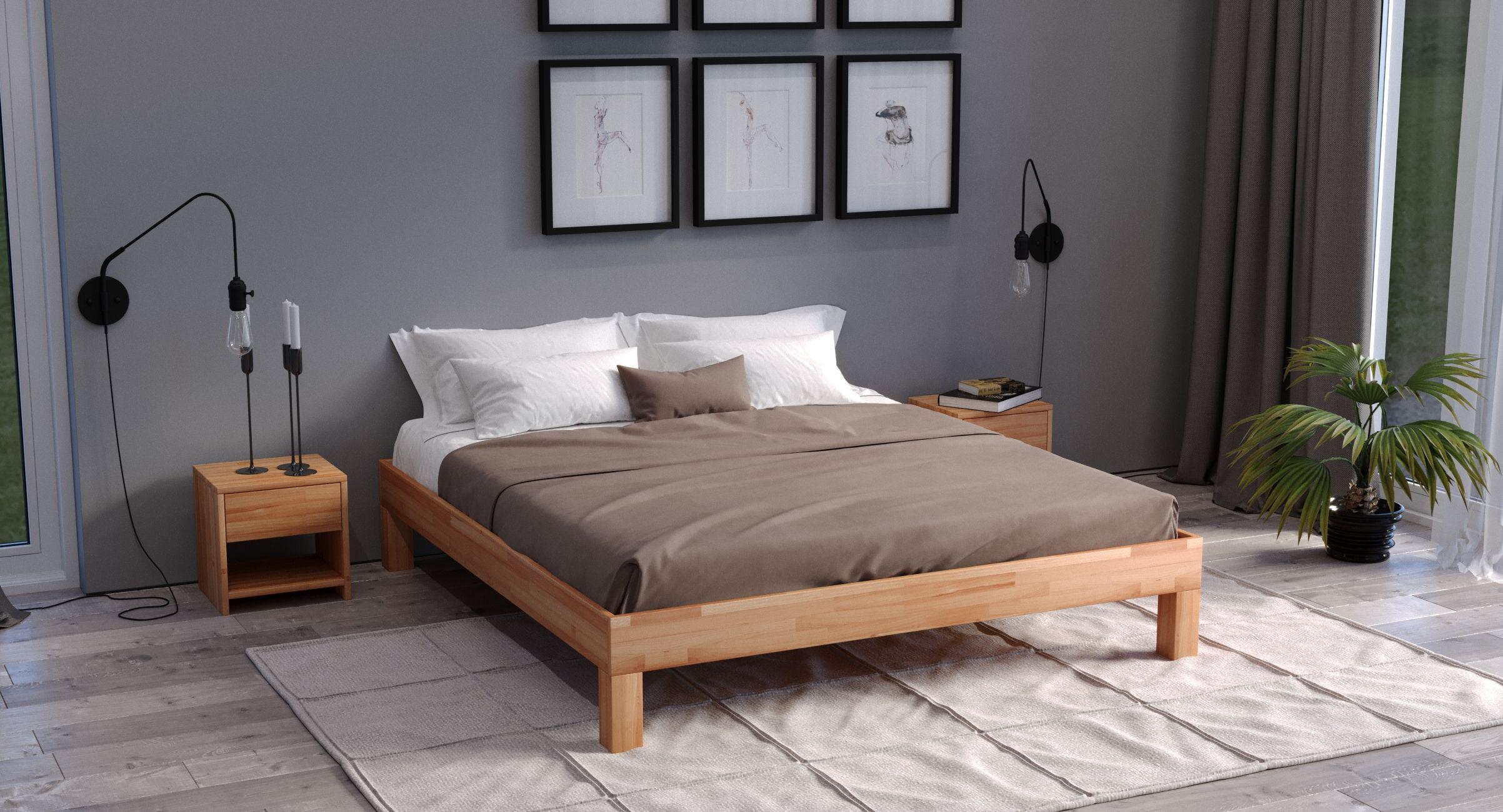 Massivholzbett Jana Buche in 2020 Schlafzimmer, Designs