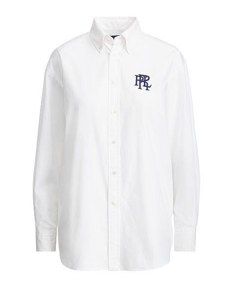 30f36f97 Oxford Boyfriend Shirt - Polo Ralph Lauren New Arrivals - RalphLauren.com