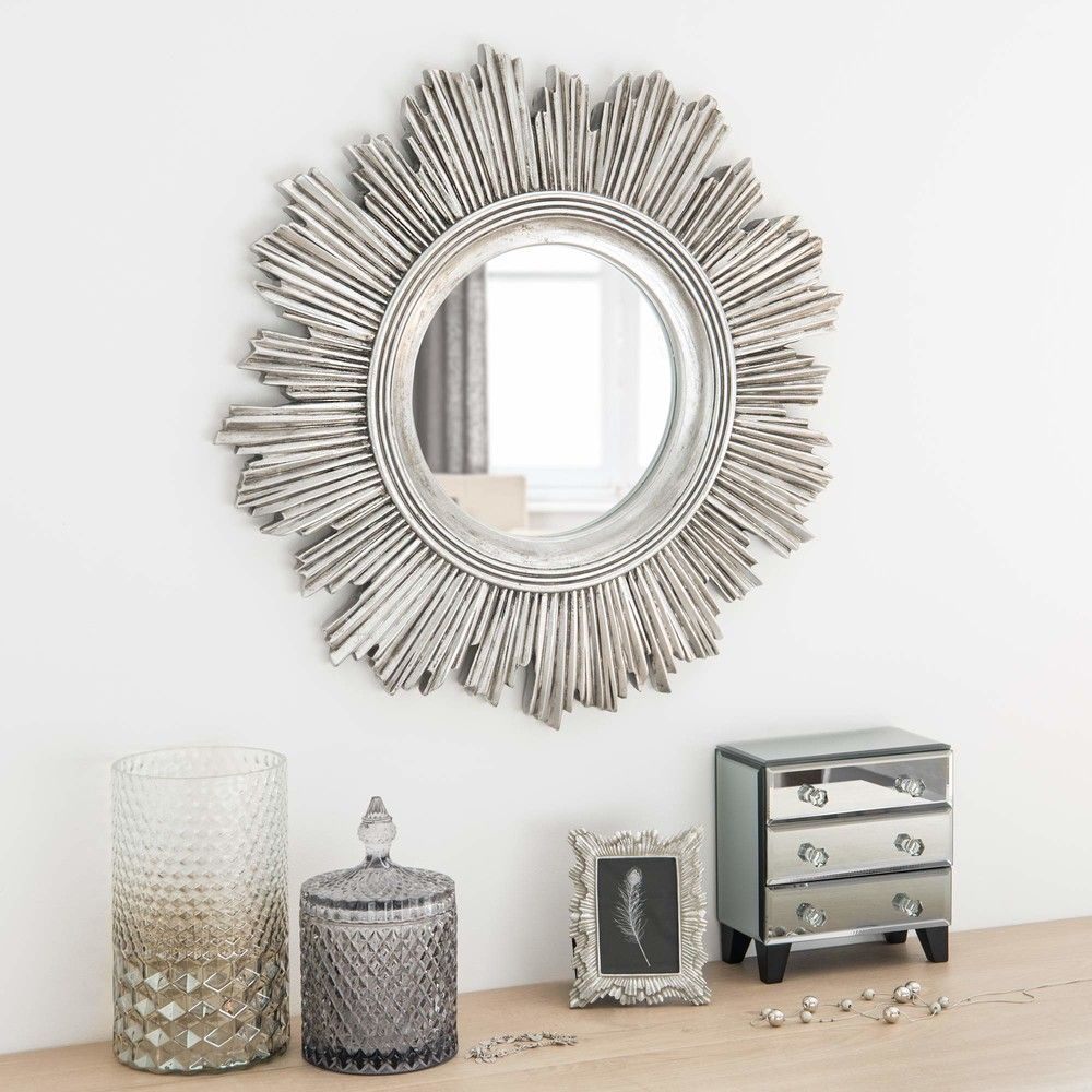 miroir soleil argent d51 maisons du monde deco salon pinterest miroir soleil maison du. Black Bedroom Furniture Sets. Home Design Ideas