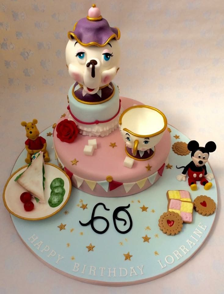 mickey mouse armchair uk herman miller chairs a disney inspired 60th birthday cake, complete with winnie the pooh, and chip ...