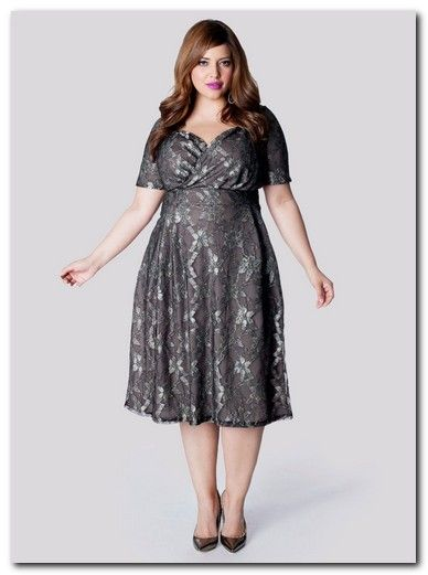 Dresses for plus size women for a wedding
