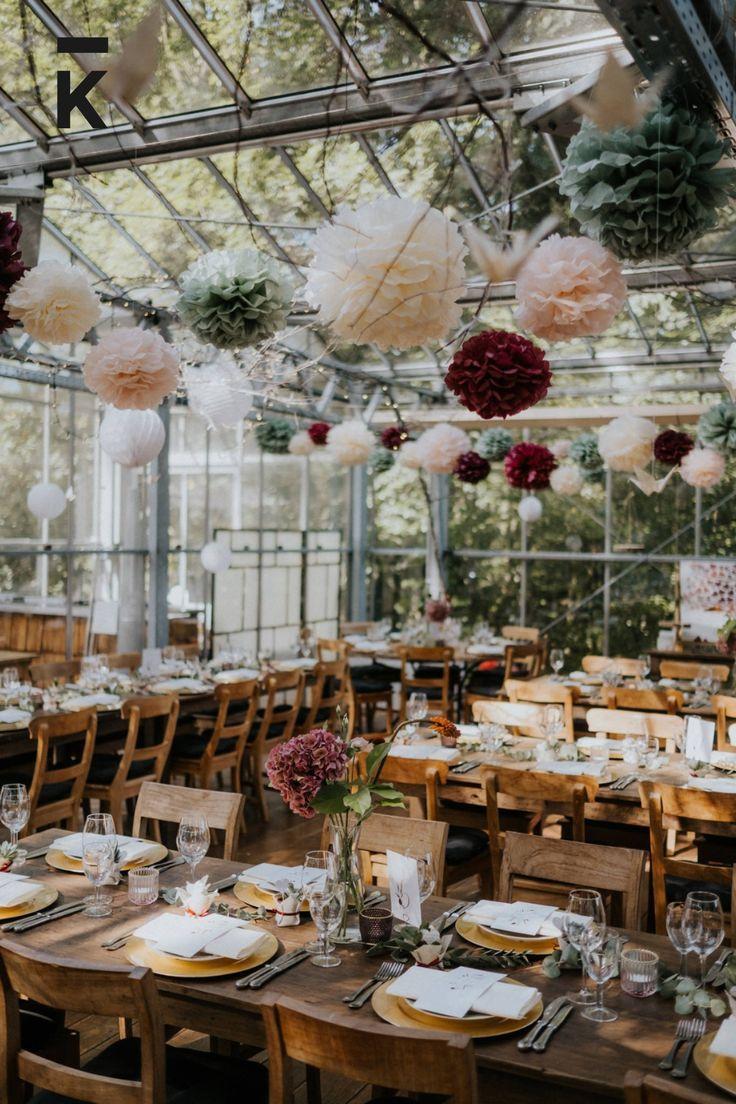 Gewächshaus Hochzeit bei Aache