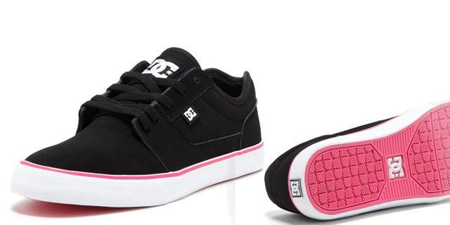 DC shoes negros
