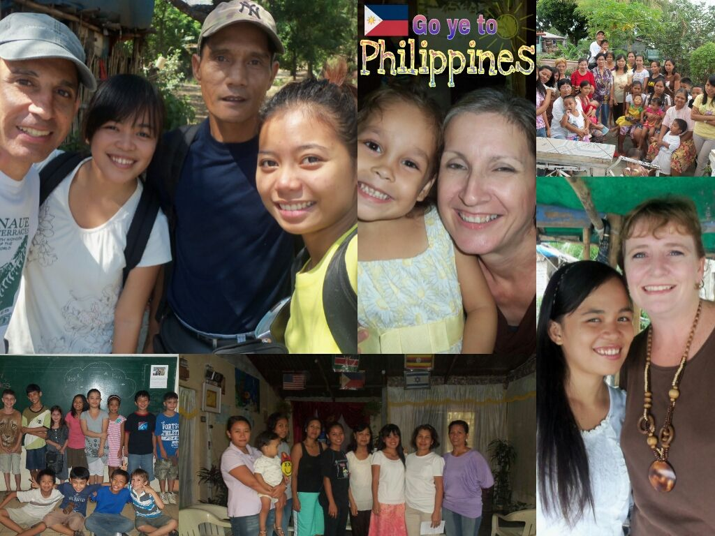 Women's ministry in Balaybay, Children's ministry in Olongapo, School of Christ in Matangib.