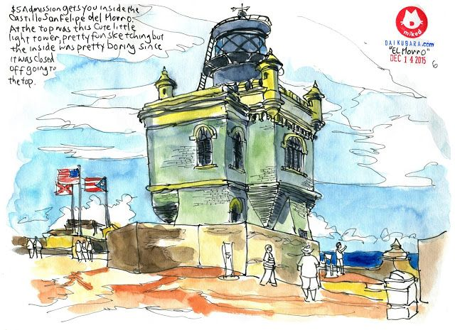 My first solo sketching Trip: Puerto Rico - Old San Juan | Urban Sketchers