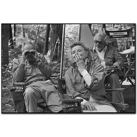 Mary Ellen Mark Seen Behind The Scene 101x 018 28a Katharine Hepburn Henry Fonda Mary Ellen Mark