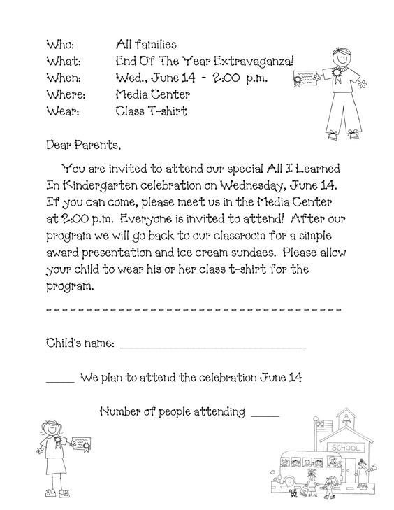 Preschool Graduation Program Sample - Google Search: | Jbabystylin
