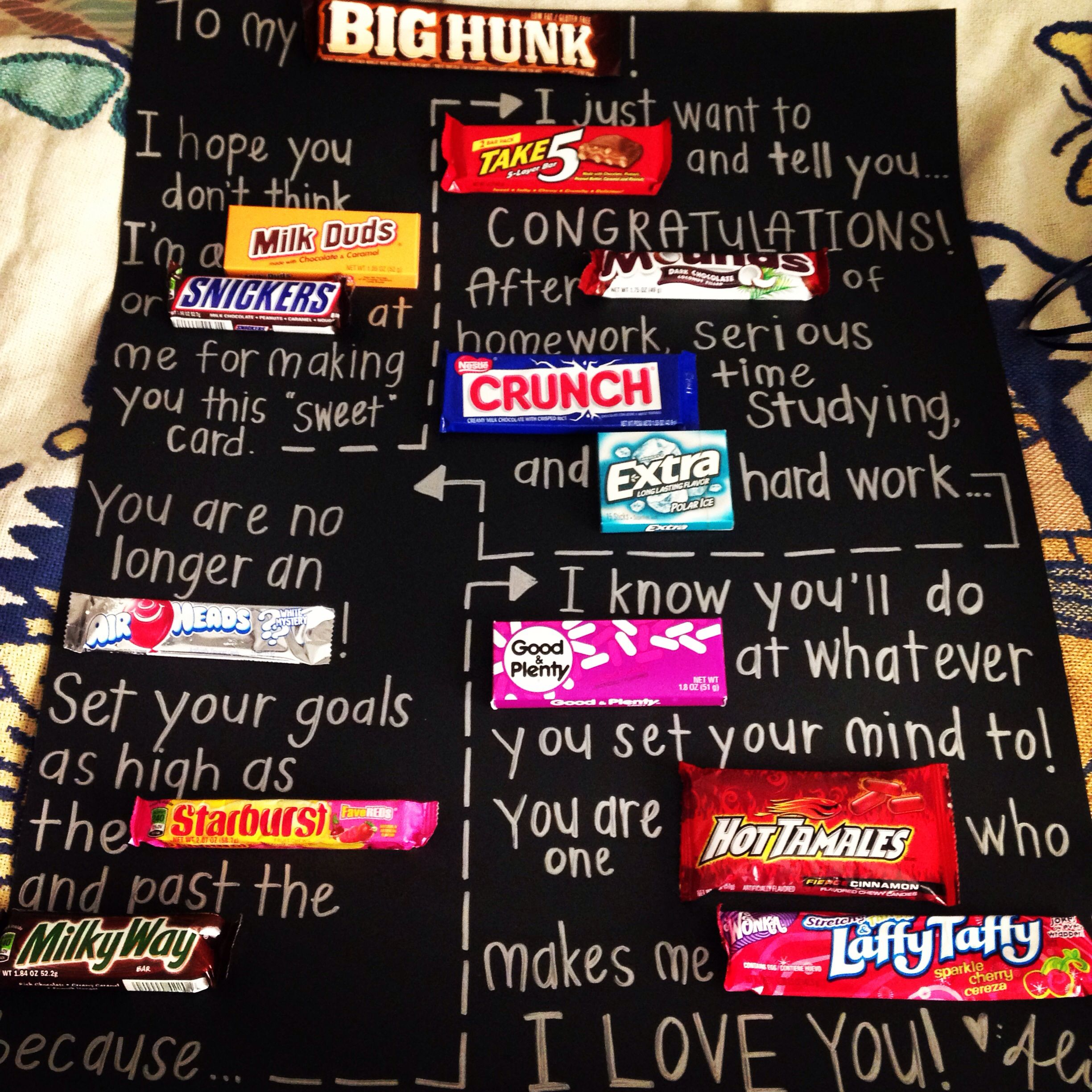 Graduation candy poster diy pinterest college graduation grad parties solutioingenieria Gallery