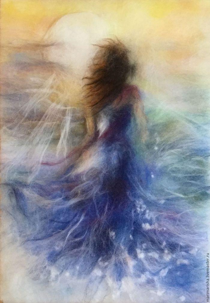 Wool Watercolours By Marina Akserova