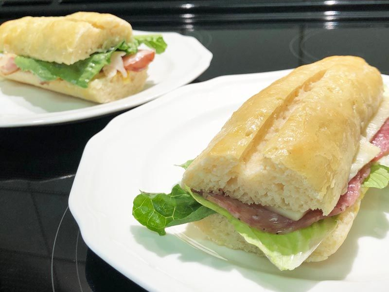 Gluten Free Subway Rolls Copycat Recipe very similar to