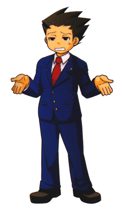 This Is Oddly Professor Layton Esque Phoenix Wright Phoenix Wright Chibi Game Character