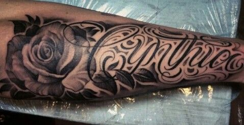 Chicano Lettering Forearm Name Tattoos Forearm Tattoos Tattoo Font For Men