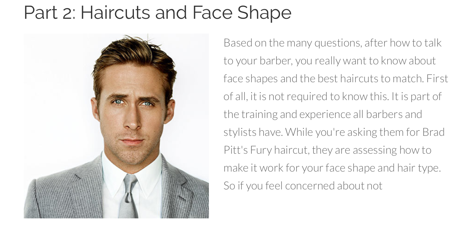 Haircuts And Face Shape Face Shapes Haircuts And Face