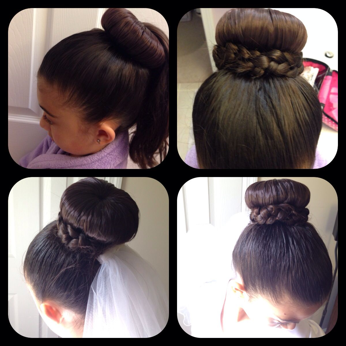 hairstyle| first communion | projects to try | communion