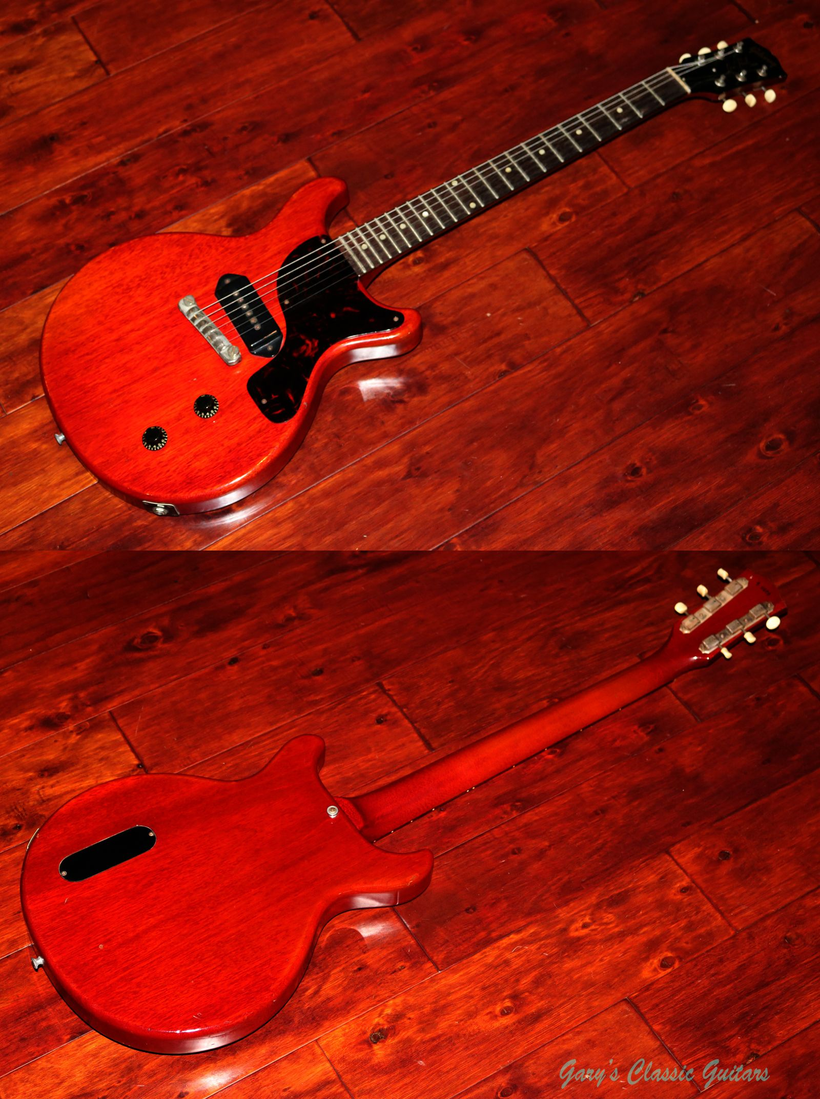 Very cool 1959 Gibson Les Paul Junior....just in! http://www.garysguitars.com/c…/1959-gibson-les-paul-junior-0