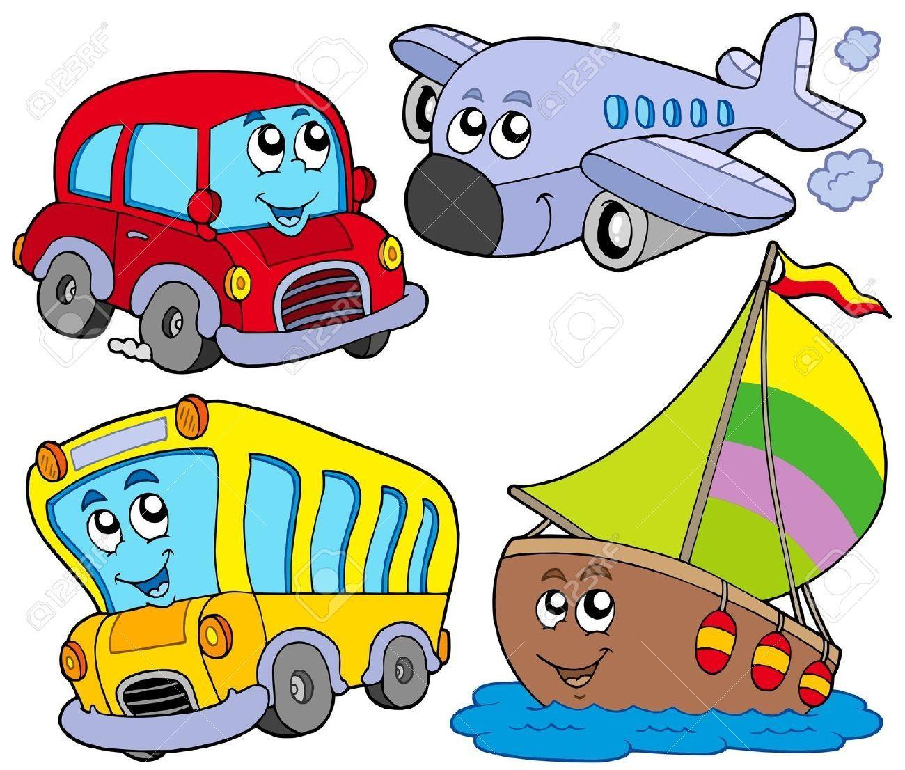 1300x1106 Transportation Clipart Cartoon Cartoon Illustration Vector Illustration