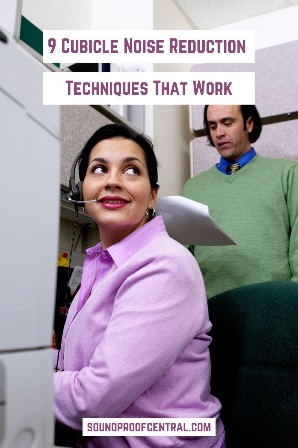 9 Cubicle Noise Reduction Techniques That Work In 2020