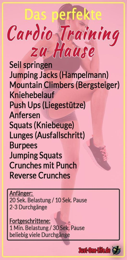 10 exercises for the perfect cardio workout at home   - Fitness -   #cardio #exercises #Fitness #Hom...