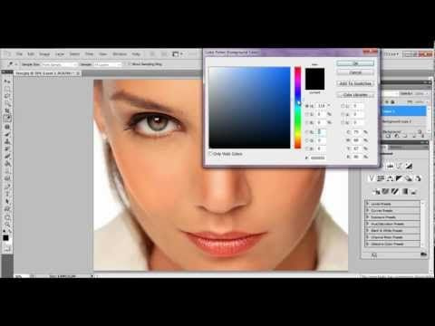 Tutorial Photoshop Cs5 Español Retoque De Piel Y Maquillaje Digital Retoque Fotografico Photoshop Tutoriales Photoshop