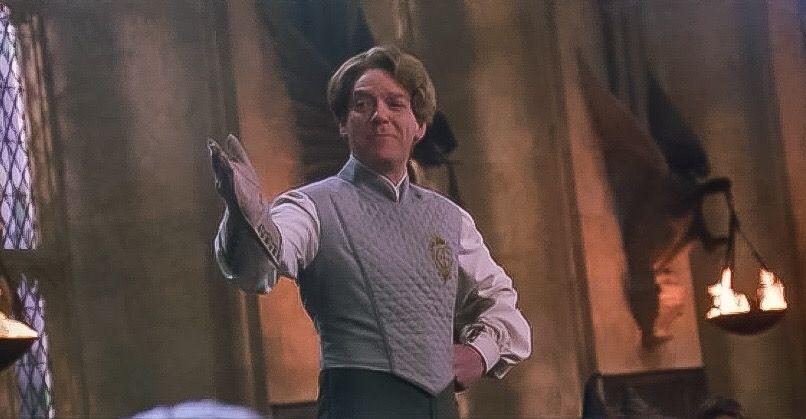 Harry Potter And The Chamber Of Secrets Dueling Club Professor Gilderoy Lockhart Harry Potter Luna Lovegood Celebrity Art Slytherin Harry Potter