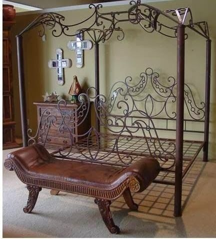 untitled wrought iron bed frames