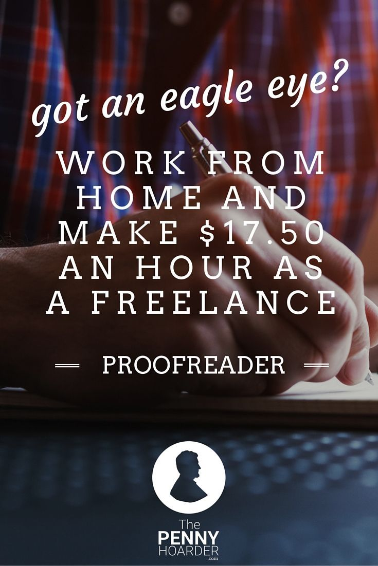 Got an Eagle Eye? Work From Home and Make $17.50 an Hour ...