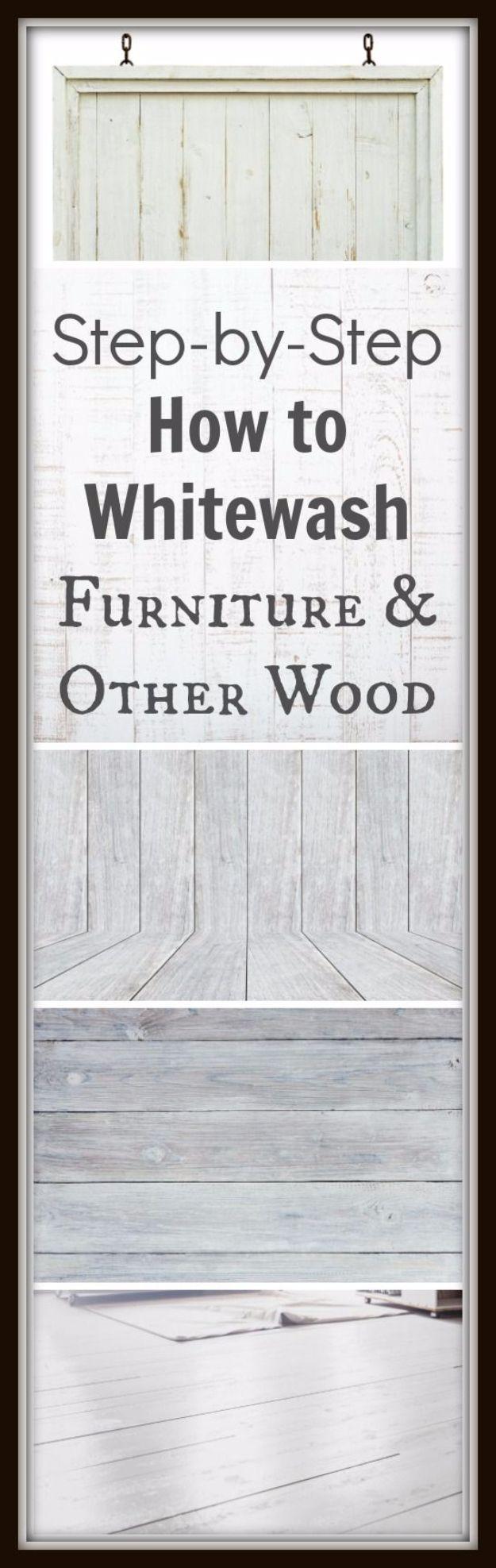 whitewash furniture diy. 35 Furniture Refinishing Tips Whitewash Diy