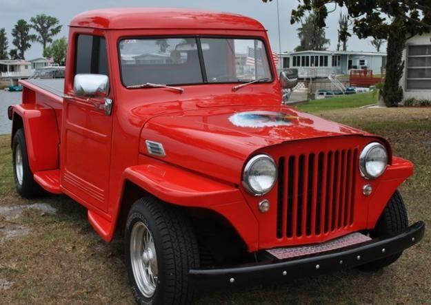 1948 Jeep Willys Street Rod Truck Orlando Willys Jeep Willys