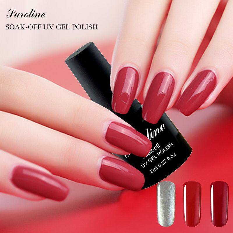 Saroline Fácil de BRICOLAJE Nail Art UV Gel Esmalte de Uñas 8 ml ...