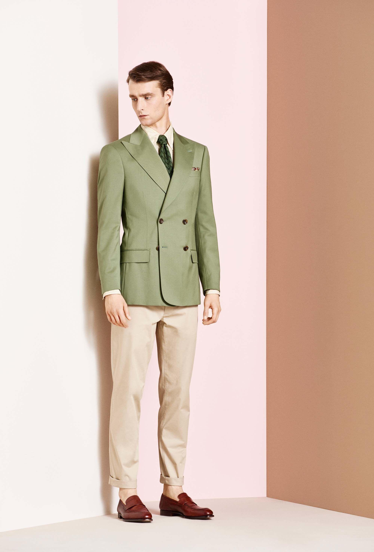 Richard James Spring 2018 Menswear Fashion Show Collection