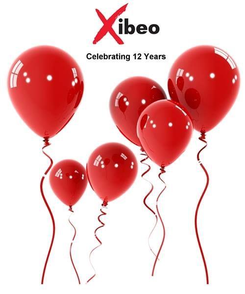 Xibeo Celebrates 12 Years Www Xibeo Com 805 604 4409 Red Balloon Balloons Red