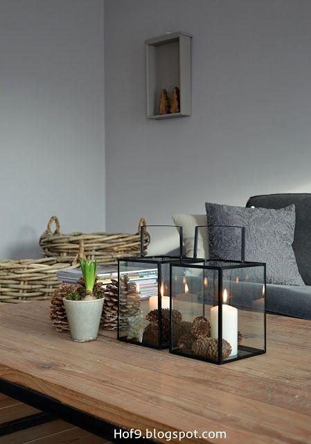 Es weihnachtet im Wohnzimmer.......... | Winterdeko | Pinterest ...
