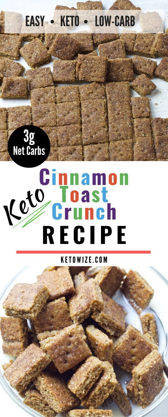 Keto Cinnamon Toast Crunch Recipe – Low Carb Cereal