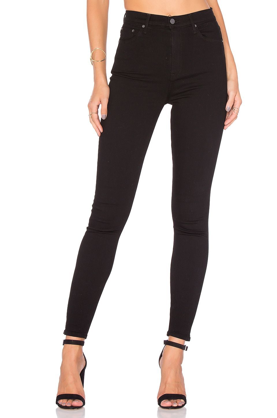 High rise skinny max jeans
