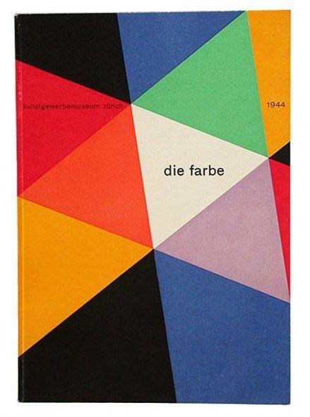 Max Bill Die Farbe Bauhaus Colors Book Design Book Cover Design