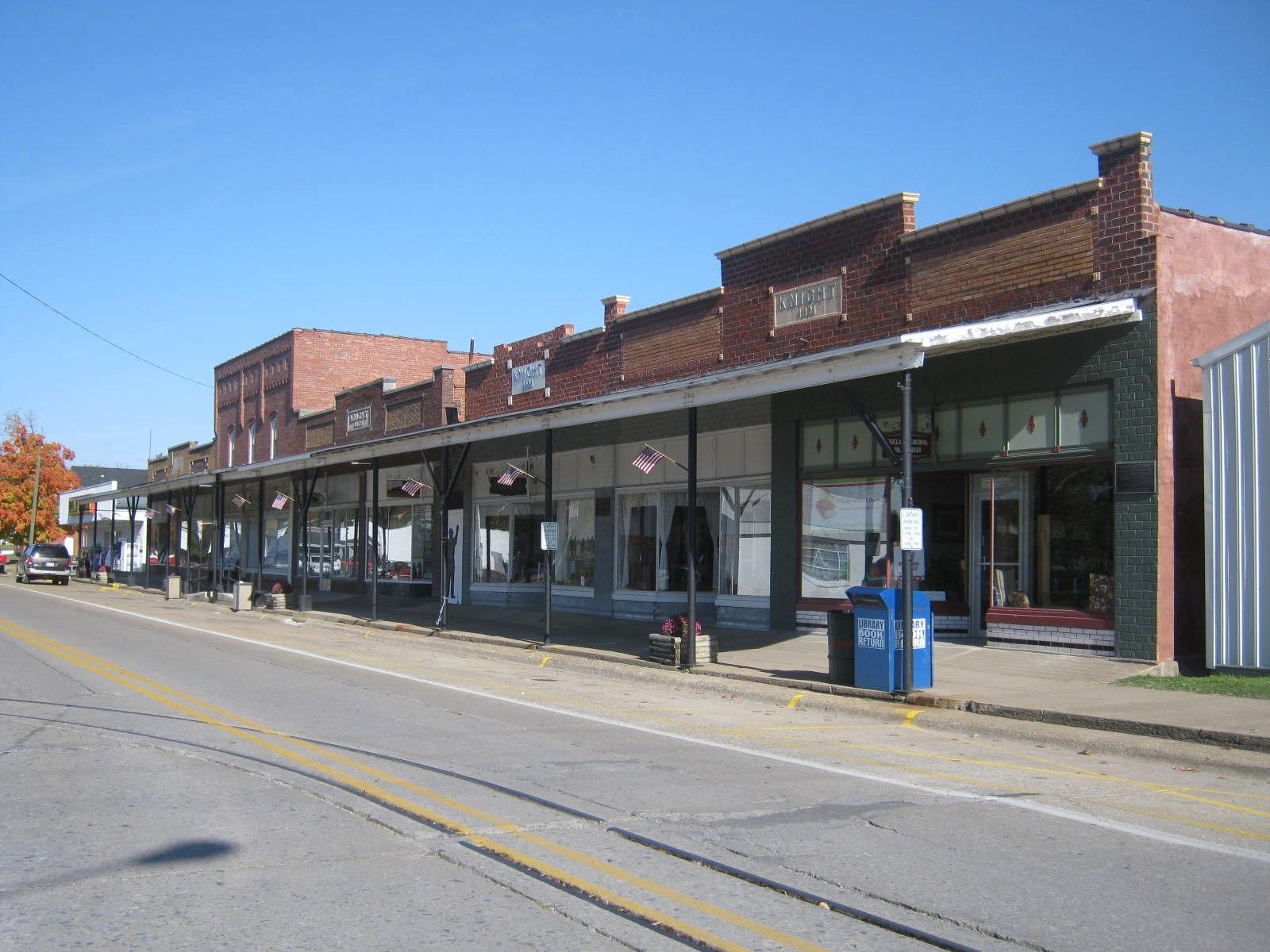 Downtown Rosiclare Illinois On The Ohio River In