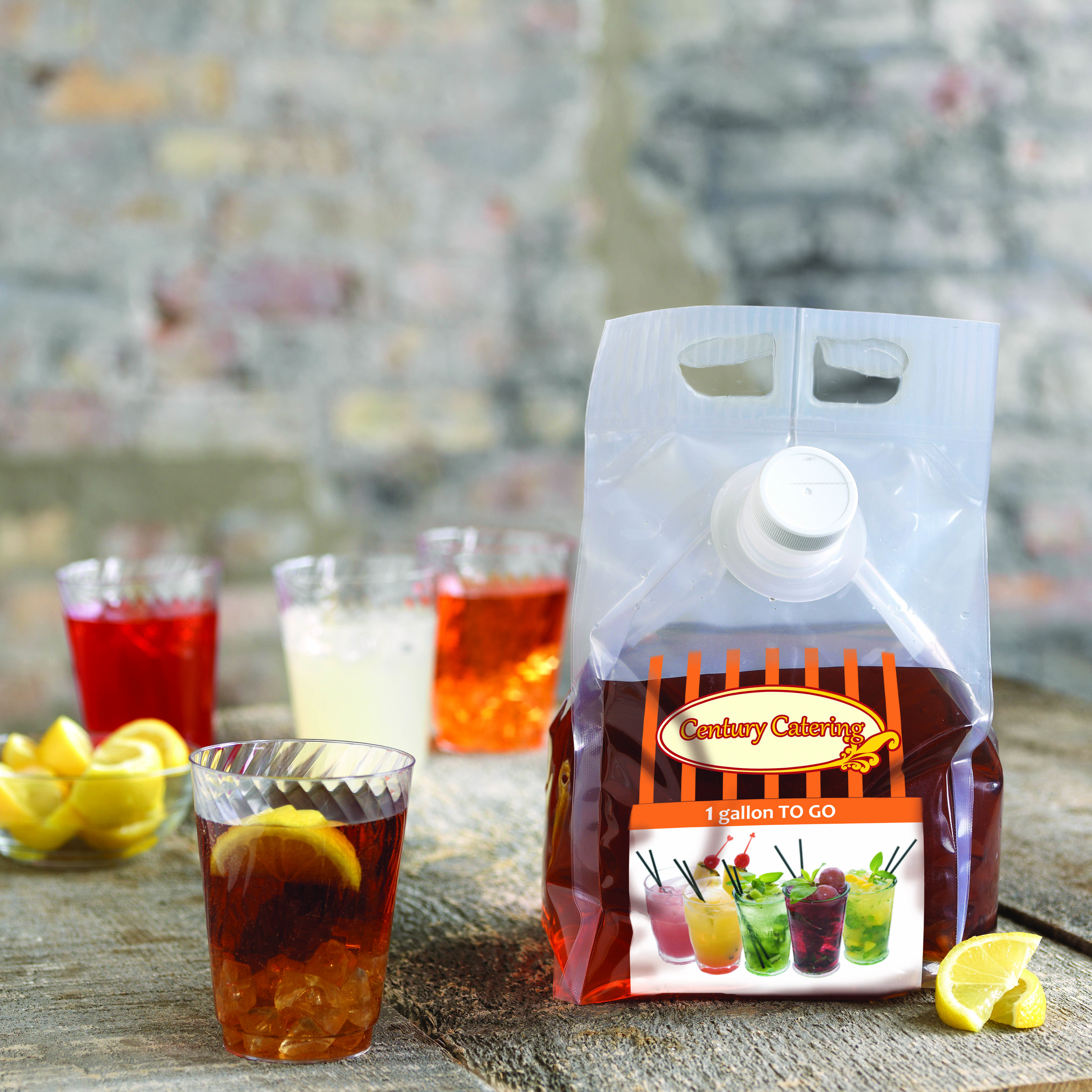 Try a disposable, recyclable pitcher instead!