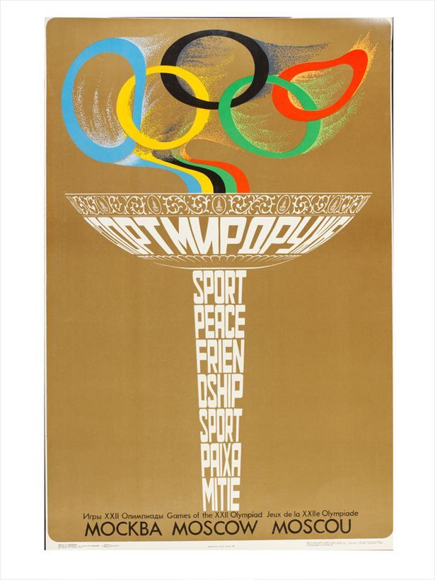Moscow Summer Olympics 1980. The Games were hit by a boycott by the United  States 075adb2fff9f