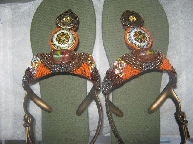 f753f2fa26 Havaianas Freedom - sandália com miçanga